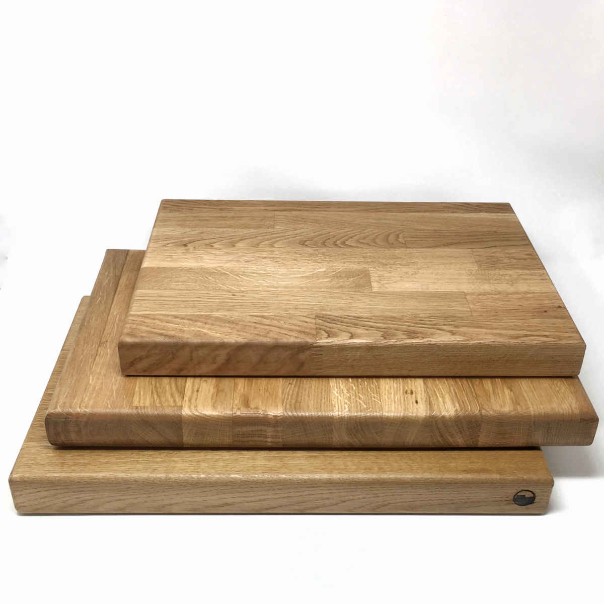 Reclaimed wood chopping board LARGE